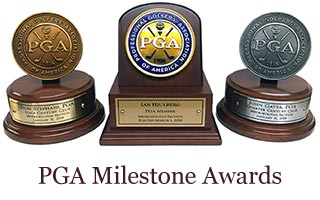 PGA Milestone Awards