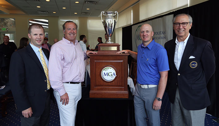 Metropolitan Golf Association Championship Trophy