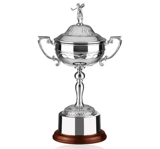 Nickel Plated Silver Finish Golf Cup